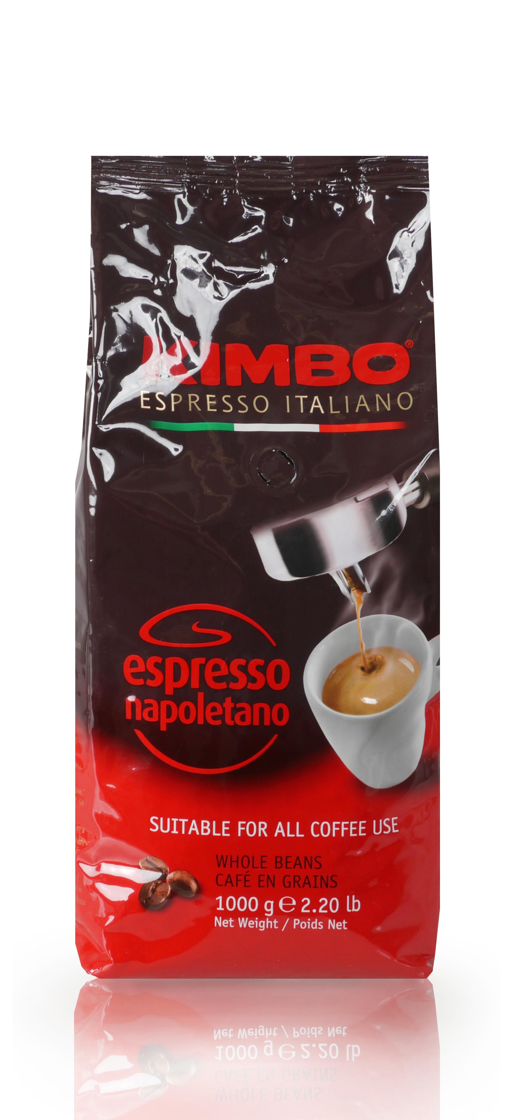 kimbo napoletano 1kg espresso kaffee jetzt g nstig kaufen. Black Bedroom Furniture Sets. Home Design Ideas