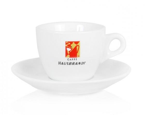 Original Hausbrandt Caffe Cappuccinotasse in Gastroqualität