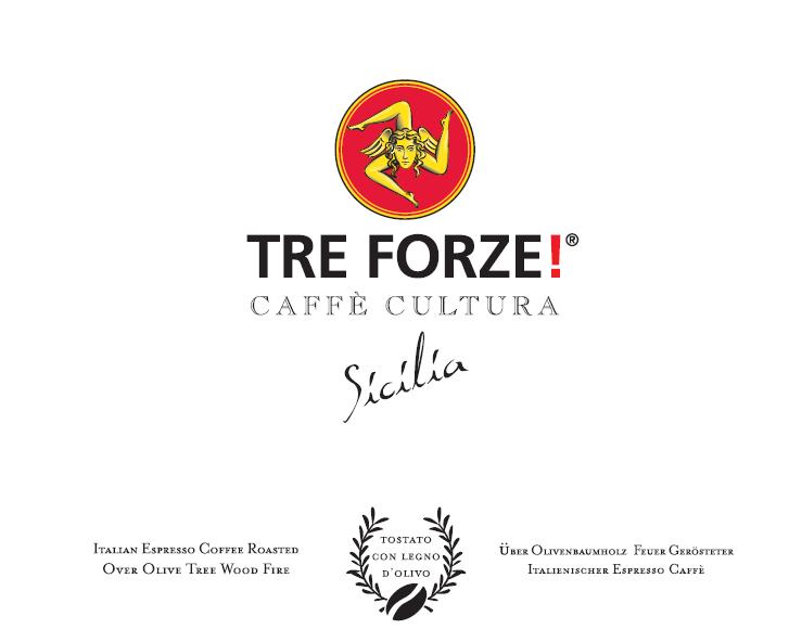 TRE FORZE Kaffee Espresso Logo