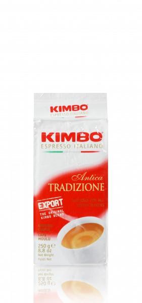 Kimbo Espresso Antica Tradizione 250g gemahlen im Vakuumpack