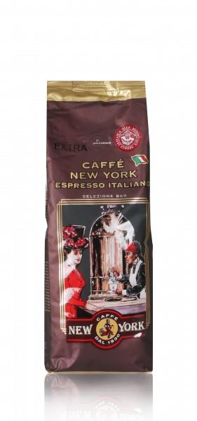 New York EXTRA Kaffee 1kg Bohne mit 5% Jamaica Blue Mountainbohnen