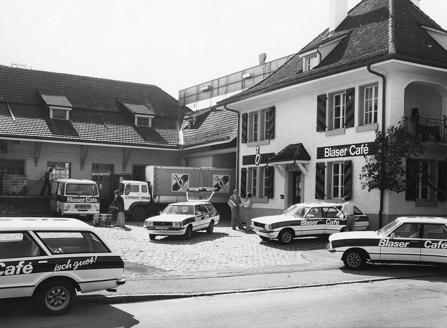 Blasercafe-historisches-Bild-Kaffeerosterei