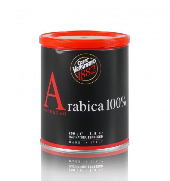 Caffè Vergnano 100% Arabica 250g gemahlen