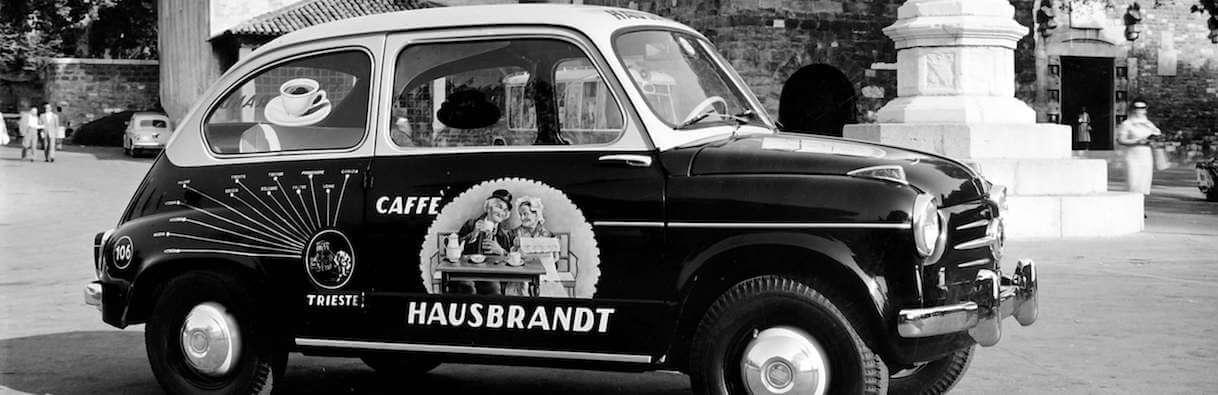 kaffee-kaufen-Hausbrandt-Auto-mit-Nonnetti-Beschriftung espresso