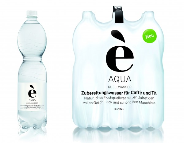 é AQUA Quellwasser - je 1,5l Flasche 0,25€ Pfand (im Verkaufspreis bereits enthalten)