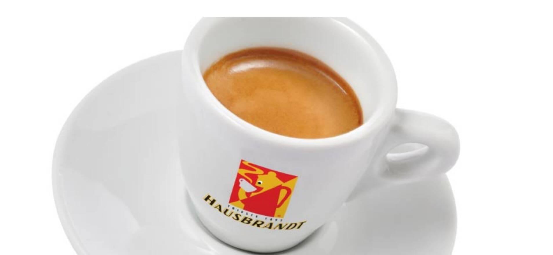 Hausbrandt-Espressotasse für lecker espresso kaffee