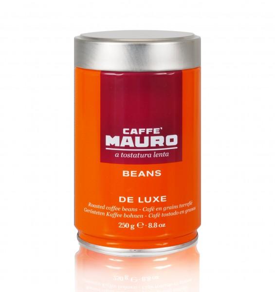 Mauro de luxe 250g Espresso Bohnen in Dose